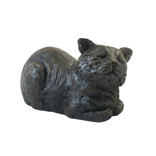 petributes-cast-resin-cat-urn-contented-cat