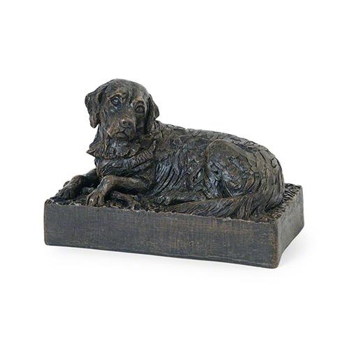 petributes-cast-resin-dog-urn-golden-retriever-bronze